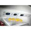 KitchenAid 20.5-cu ft Built-In Bottom-Freezer Refrigerator with Single Ice Maker (Brushed Aluminum Trim/Panel-Ready) ENERGY STAR