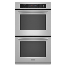 KitchenAid 27-in Convection Double Electric Wall Oven (Stainless Steel)