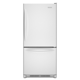 KitchenAid Architect  II 18.5-cu ft Bottom-Freezer Refrigerator (White) ENERGY STAR