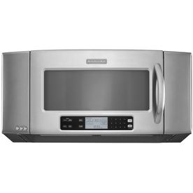 KitchenAid 2-cu ft Over-the-Range Microwave with Sensor Cooking Controls (Stainless Steel) (Common: 36-in; Actual: 35.875-in)