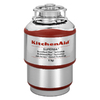 KitchenAid 1-HP Garbage Disposal with Sound Insulation