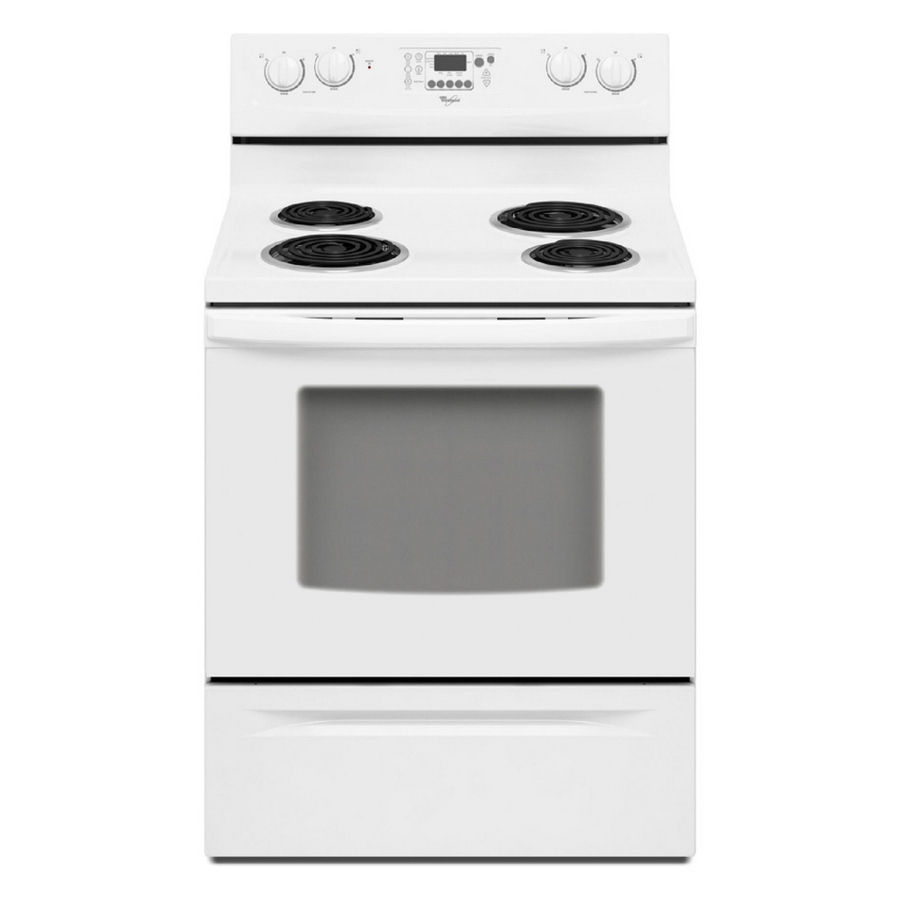 Shop Whirlpool Freestanding 4 8 Cu Ft Self Cleaning