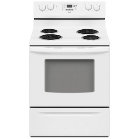 Shop Whirlpool 174 30 Inch Freestanding Electric Range Color