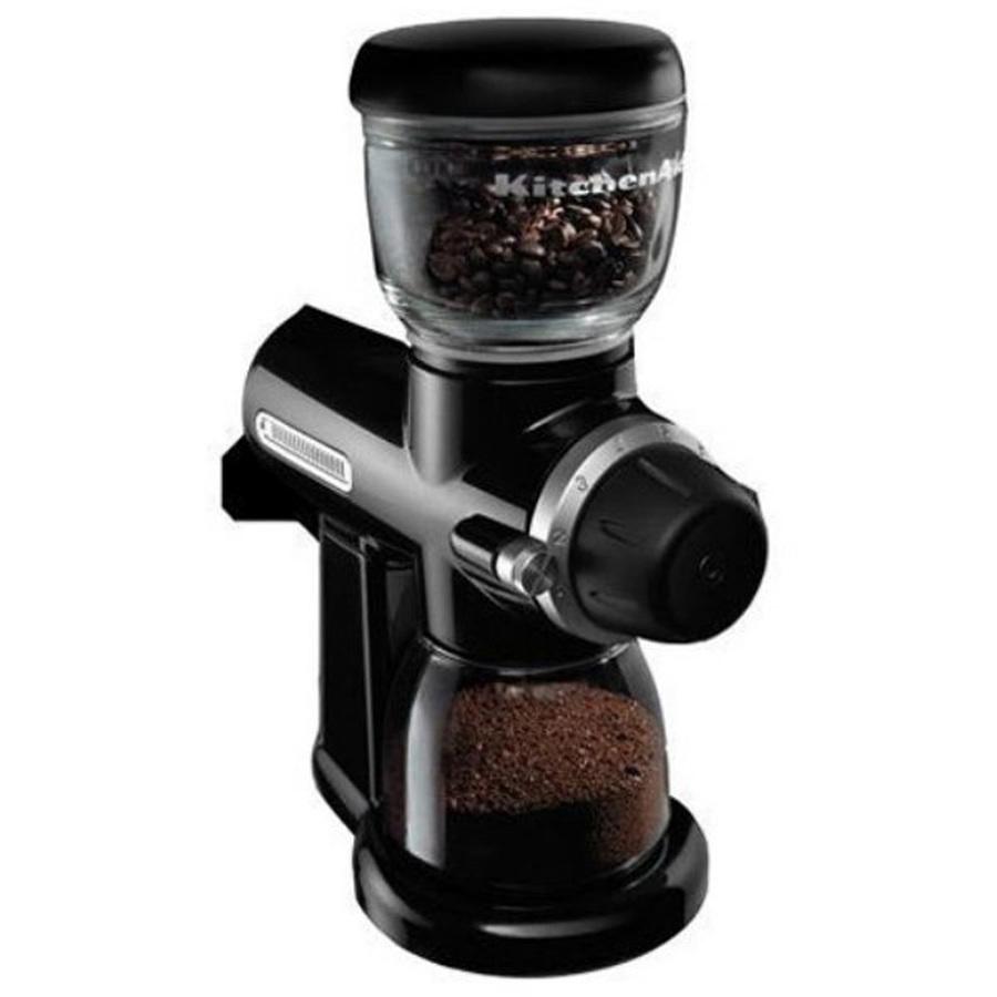 Kitchenaid Coffee Grinder ~ Shop kitchenaid oz onyx black burr coffee grinder at