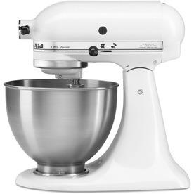 KitchenAid Ultra Power 4.5-Quart 10-Speed White Stand Mixer