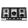 KitchenAid 30-in 5-Burner Gas Cooktop (Stainless)