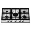 KitchenAid Architect 30-in 5-Burner Gas Cooktop (Stainless Steel)