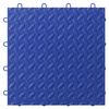 Gladiator 12-in x 12-in Blue Tread Plate Garage Flooring Tile