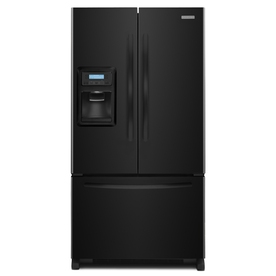 KitchenAid Architect II 19.8-cu ft Counter-Depth French Door Refrigerator with Single Ice Maker (Black) ENERGY STAR