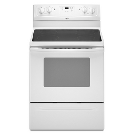 Lowe's - 30-Inch Smooth Surface Freestanding Electric ...