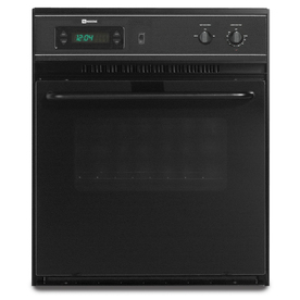 Maytag Single Electric Wall Oven (Black) (Common: 24-in; Actual 23.875-in)