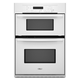 Shop Whirlpool 26 34 Inch Microwave Wall Oven Combo Color