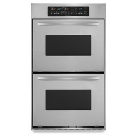 KitchenAid Architect Convection Double Electric Wall Oven (Stainless Steel) (Common: 24-in; Actual: 23.75-in)