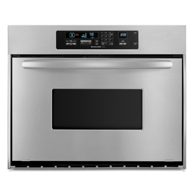 KitchenAid Architect 36-in Self-Cleaning Single Electric Wall Oven (Stainless Steel)