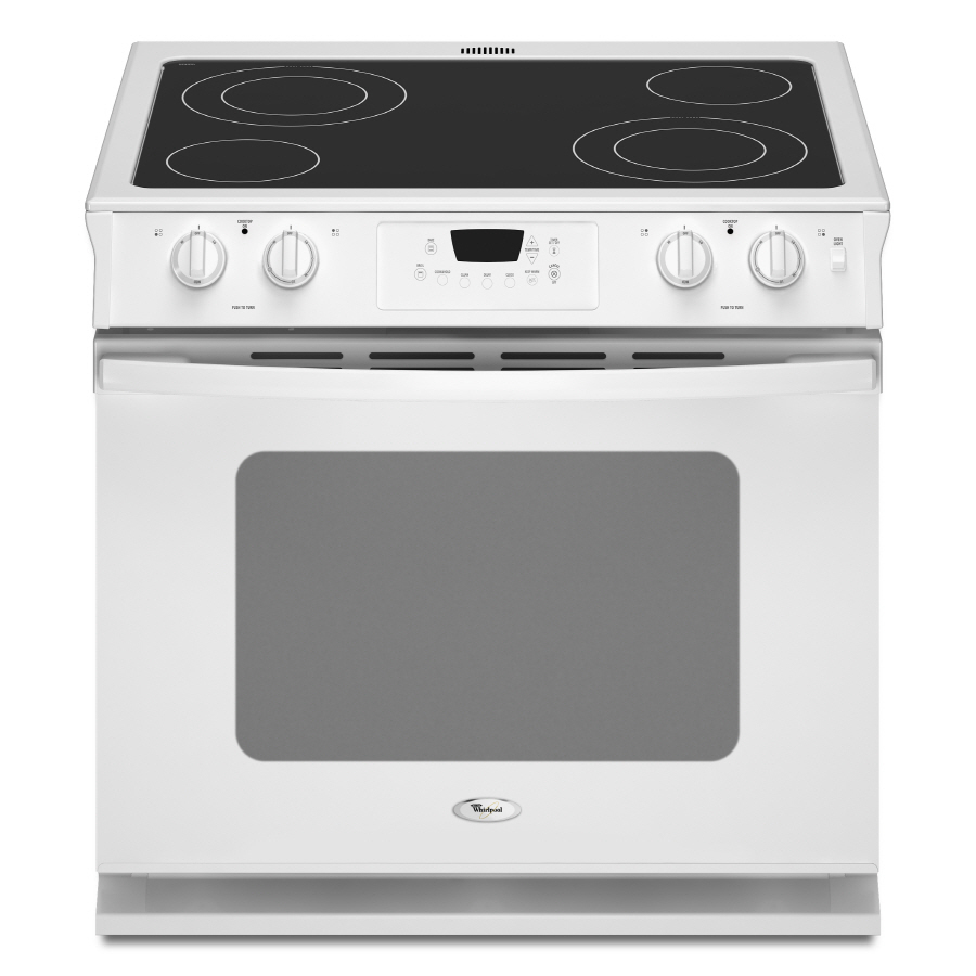 Shop Whirlpool 30 In Smooth Surface 4 5 Cu Ft Self