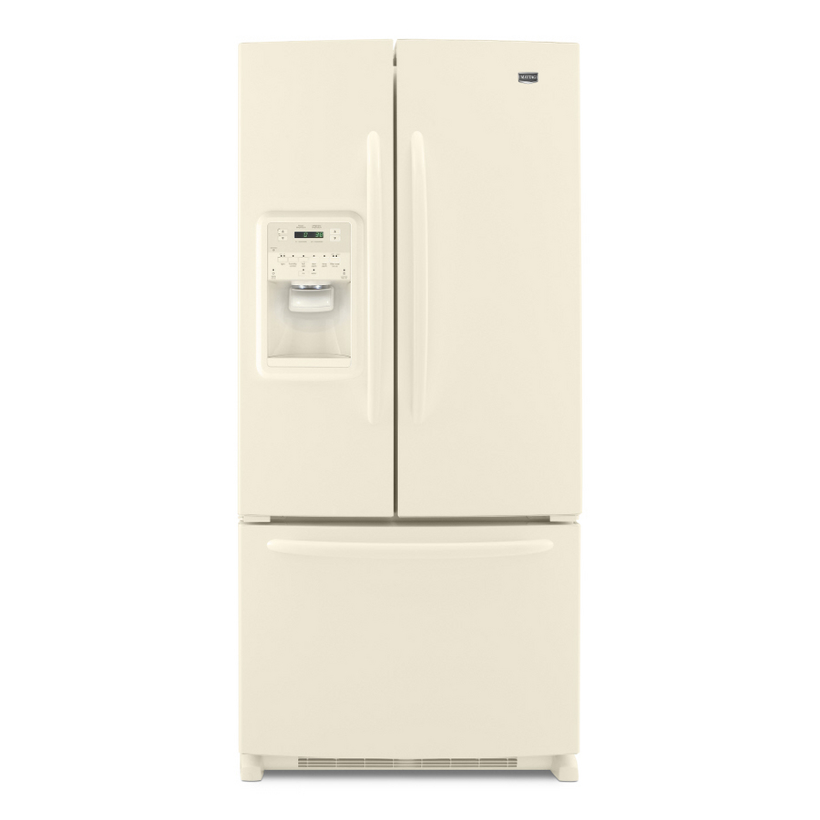 Shop Maytag 21 7 Cu Ft French Door Refrigerator Color