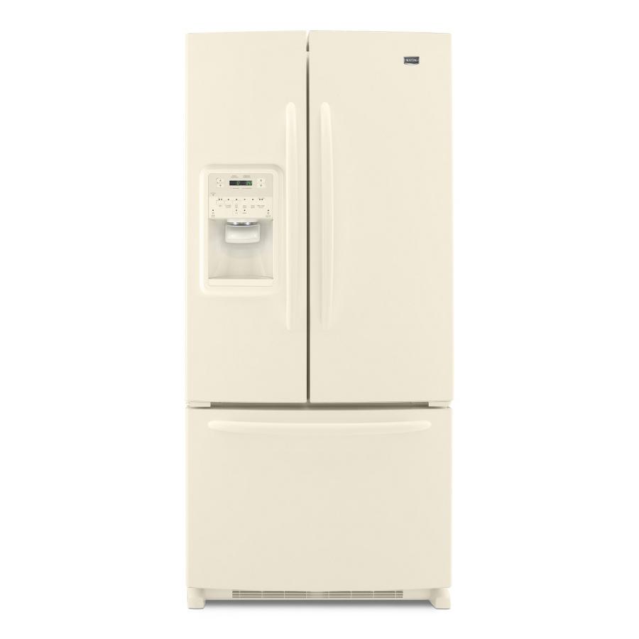 Shop Maytag 21.7 Cu. Ft. French Door Refrigerator (Color ...