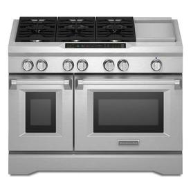 KITCHEN AID GAS STOVES - STOVES
