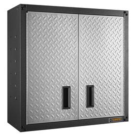 """28""""H x 28""""W x 12""""D Metal Garage Cabinet"""