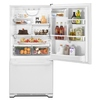 Whirlpool Gold 21.9 cu ft Bottom Freezer Refrigerator (White) ENERGY STAR