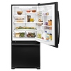 Whirlpool Gold 21.9 cu ft Bottom Freezer Refrigerator (Black) ENERGY STAR