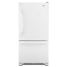 Whirlpool Gold 18.5 cu ft Bottom Freezer Refrigerator (White) ENERGY STAR