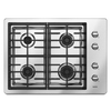 Maytag 30-in 4-Burner Gas Cooktop (Stainless)