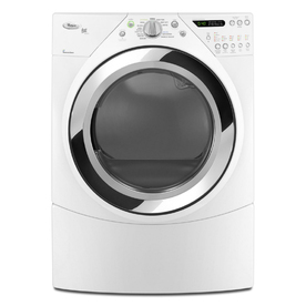 Whirlpool Duet 7.2-cu ft Stackable Gas Dryer with Steam Cycles (White)