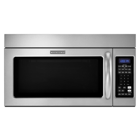 KitchenAid 1.8-cu ft Over-The-Range Convection Oven Microwave with Sensor Cooking Controls (Stainless Steel) (Actual: 29.93-in)