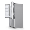 KitchenAid Architect® Ii 21.9-cu ft French Door Refrigerator with Single Ice Maker (Monochromatic Stainless Steel) ENERGY STAR
