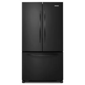 KitchenAid Architect Ii 24.8-cu ft French Door Refrigerator with Single Ice Maker (Black) ENERGY STAR