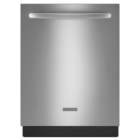 KitchenAid 52-Decibel Built-In Dishwasher with Hard Food Disposer (Stainless) (Common: 24-in; Actual 23.875-in) ENERGY STAR