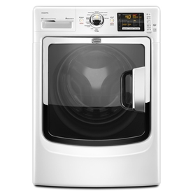 Maytag Maxima 4.3 cu ft High-Efficiency Front-Load Washer (White) ENERGY STAR