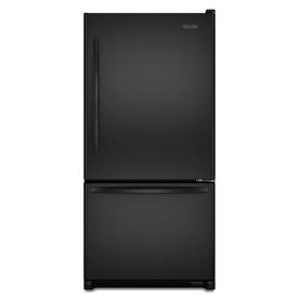 KitchenAid Architect II 21.9-cu ft Bottom-Freezer Refrigerator (Black) ENERGY STAR