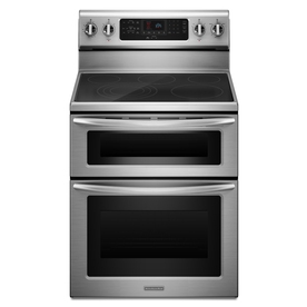 "KitchenAid 30"" 6.7 cu. ft. Architect® Series II Freestanding Double Oven Convection/Thermal Electric Range"