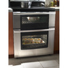 Whirlpool Gold 30-in Smooth Surface 5-Element 4.2-cu ft / 2.5-cu ft Self-Cleaning Double Oven Electric Range (Stainless Steel)
