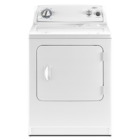 Whirlpool 7-cu ft Gas Dryer (White)