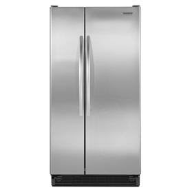 seek refrigerator - side-by-side, no water dispenser