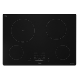 Whirlpool Gold Smooth Surface Induction Electric Cooktop (Black) (Common: 30-in; Actual 30.375-in)