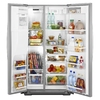 Whirlpool Gold 26.4-cu ft Side-by-Side Refrigerator (Stainless Steel) ENERGY STAR