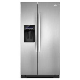 Whirlpool Gold 26.4 cu ft Side-by-Side Refrigerator (Stainless Steel) ENERGY STAR