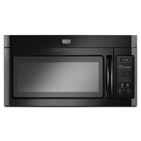 Maytag 1.6-cu ft Over-the-Range Microwave with Sensor Cooking Controls (Black)
