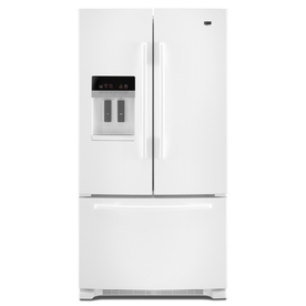 Maytag 25.5 cu ft French Door Refrigerator (White) ENERGY STAR