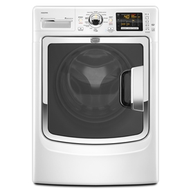 Maytag Maxima 4.3 cu ft High-Efficiency Front-Load Washers (White) ENERGY STAR