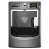 Maytag Maxima 4.3-cu ft High-Efficiency Stackable Front-Load Washer with Steam Cycle (Cosmetallic) ENERGY STAR