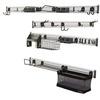 Gladiator 107-Piece Varied Plastic Storage Rail System