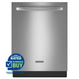 KitchenAid 24-in Built-In Dishwasher (Stainless) ENERGY STAR