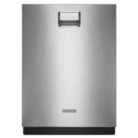 KitchenAid 24-in 46 Decibels Built-in Dishwasher with Stainless Steel Tub (Stainless) ENERGY STAR