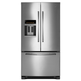 Maytag 25.6 cu ft French Door Refrigerator (Stainless Steel) ENERGY STAR