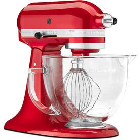 KitchenAid Artisan Design Series 5-Quart 10-Speed Candy Apple Red Stand Mixer